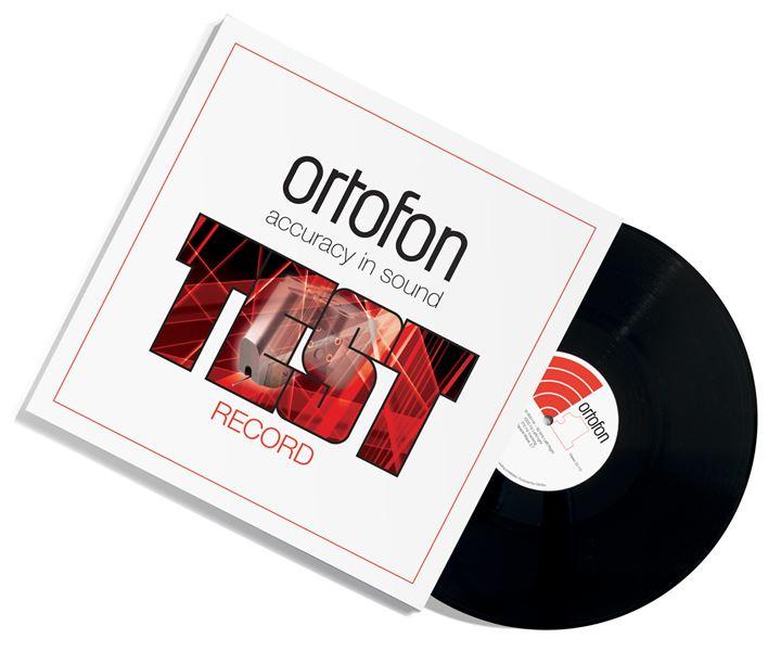 Ortofon Test Record, testilevy levysoittimen säätämiseen