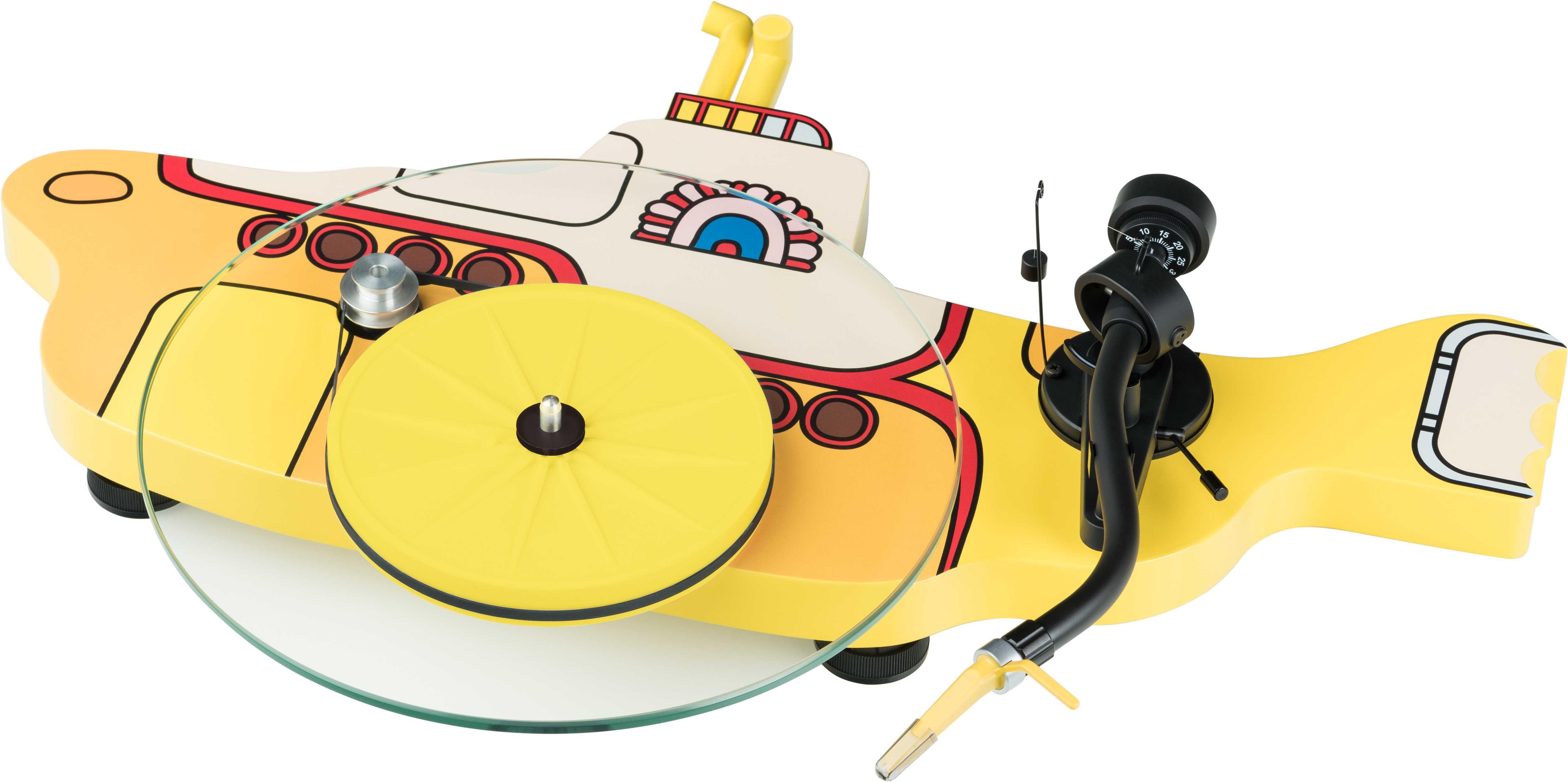 Pro-Ject The Beatles Yellow Submarine levysoitin