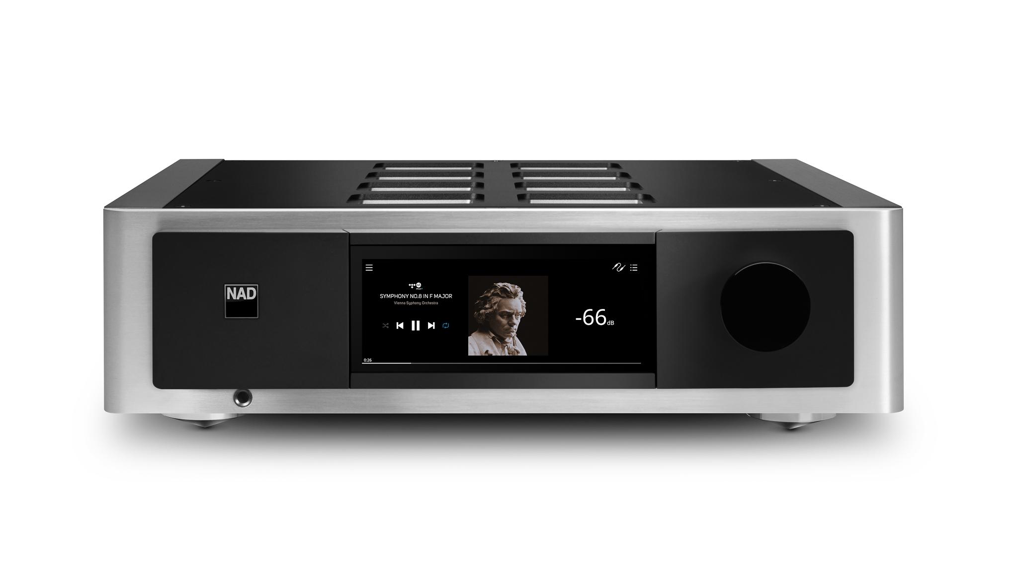 NAD M33 Masters BluOS Streaming - DAC vahvistin