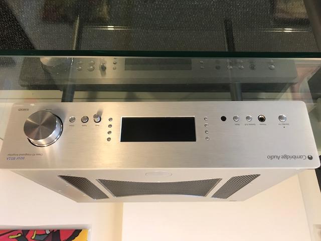 Cambridge Audio Azur 851A integroitu vahvistin