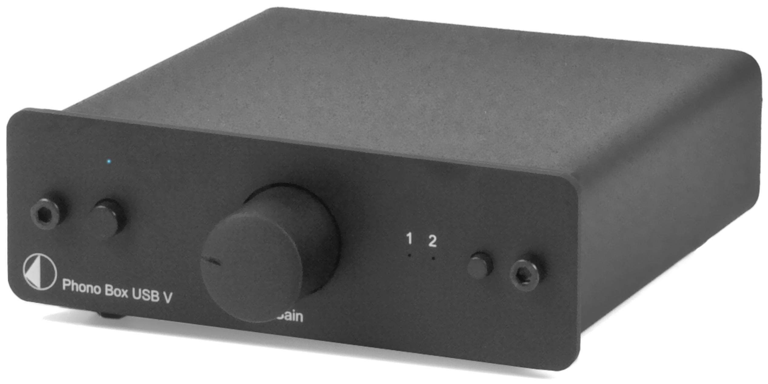 Pro-Ject Phono Box USB V RIAA esivahvistin levysoittimelle
