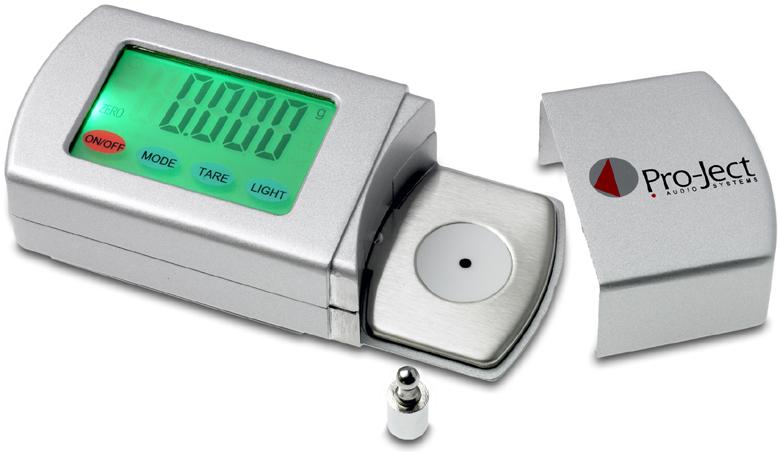 Pro-Ject Measure It 2, elektroninen neulapainovaaka