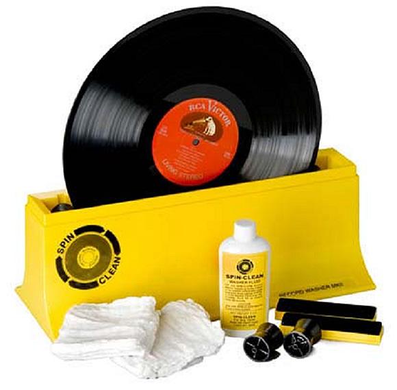 Spin-Clean äänilevypesuri MKII
