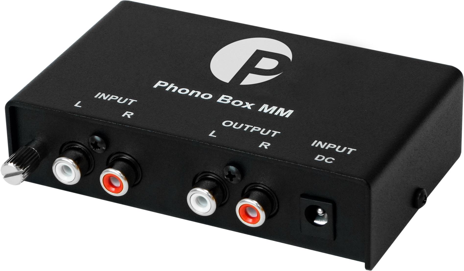 Pro-Ject Phono Box MM, RIAA-korjain levysoittimelle