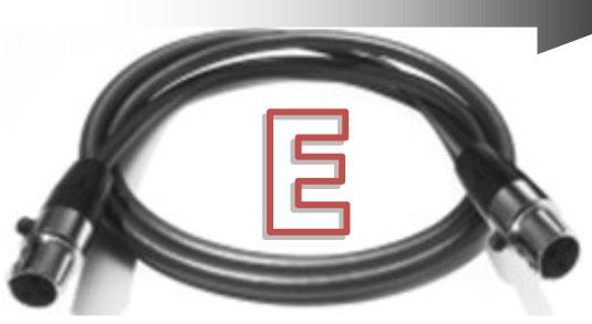 Pro-Ject Connect It Power RS kaapeli, 20 V MiniXLR-MiniXLR
